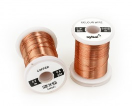 Colour Wire, 0.31 mm, Copper