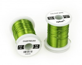 Colour Wire, 0.31 mm, Chartreuse