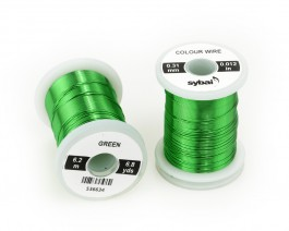 Colour Wire, 0.31 mm, Green