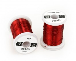 Colour Wire, 0.31 mm, Red