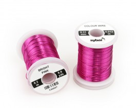 Colour Wire, 0.31 mm, Bright Pink