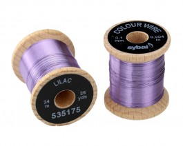 Colour Wire, 0.1 mm, Lilac