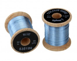 Colour Wire, 0.1 mm, Blue