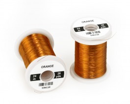 Colour Wire, 0.1 mm, Orange