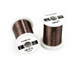 Colour Wire, 0.1 mm, Gunmetal