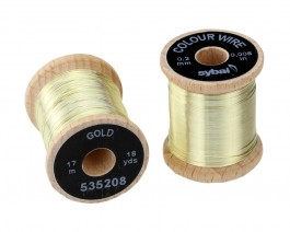 Colour Wire, 0.2 mm, Gold