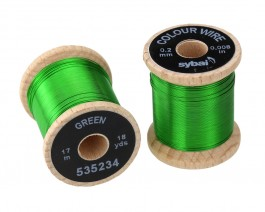 Colour Wire, 0.2 mm, Green