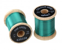 Colour Wire, 0.2 mm, Pine Green