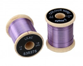 Colour Wire, 0.2 mm, Lilac