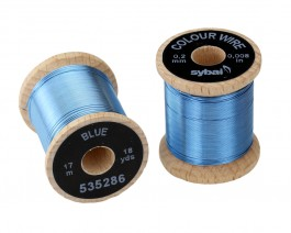 Colour Wire, 0.2 mm, Blue