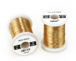 Colour Wire, 0.2 mm, Rich Gold
