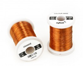 Colour Wire, 0.2 mm, Orange