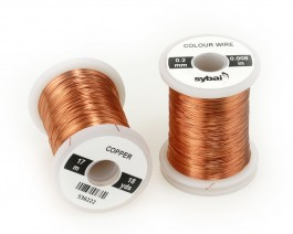 Colour Wire, 0.2 mm, Copper