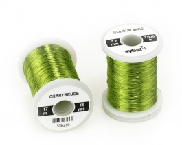 Colour Wire, 0.2 mm, Chartreuse