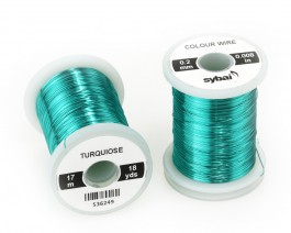 Colour Wire, 0.2 mm, Turquiose