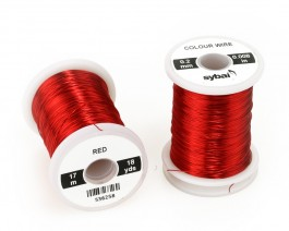 Colour Wire, 0.2 mm, Red