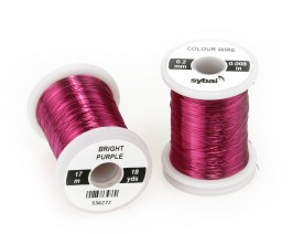Colour Wire, 0.2 mm, Bright Purple