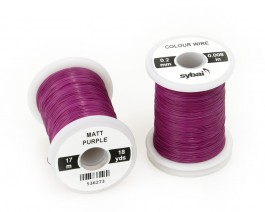 Colour Wire, 0.2 mm, Matt Purple