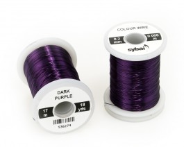Colour Wire, 0.2 mm, Dark Purple