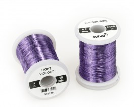 Colour Wire, 0.2 mm, Light Violet