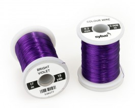 Colour Wire, 0.2 mm, Bright Violet