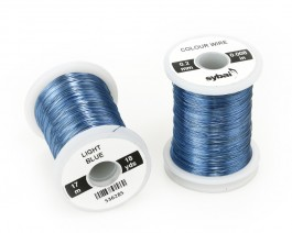 Colour Wire, 0.2 mm, Light Blue