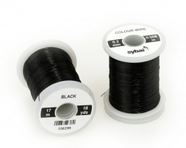 Colour Wire, 0.2 mm, Black