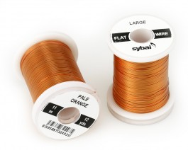 Flat Colour Wire, Large, Pale Orange