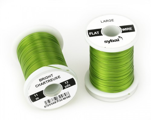 Flat Colour Wire, Large, Bright Chartreuse