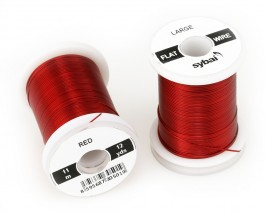 Flat Colour Wire, Large, Red