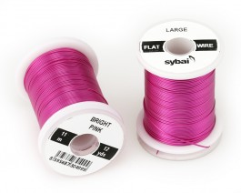 Flat Colour Wire, Large, Bright Pink
