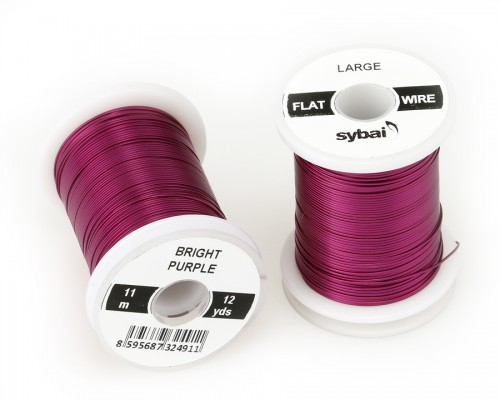 Flat Colour Wire, Large, Bright Purple