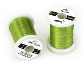 Flat Colour Wire, Medium, Wide, Light Chartreuse