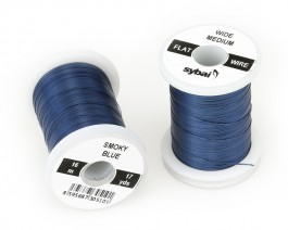 Flat Colour Wire, Medium, Wide, Smoky Blue