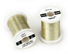 Flat Colour Wire, Medium, Light Gold