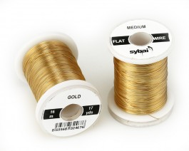 Flat Colour Wire, Medium, Gold
