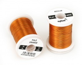 Flat Colour Wire, Medium, Pale Orange