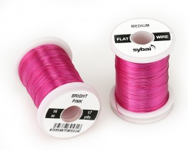 Flat Colour Wire, Medium, Bright Pink