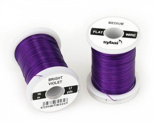 Flat Colour Wire, Medium, Bright Violet