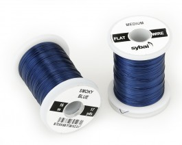 Flat Colour Wire, Medium, Smoky Blue