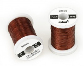 Flat Colour Wire, Medium, Brown