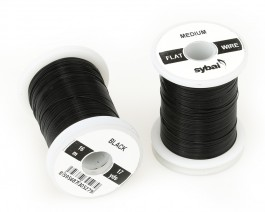 Flat Colour Wire, Medium, Black