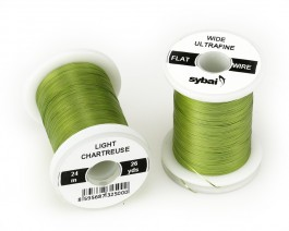 Flat Colour Wire, Ultrafine, Wide, Light Chartreuse