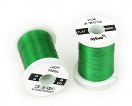 Flat Colour Wire, Ultrafine, Wide, Light Green