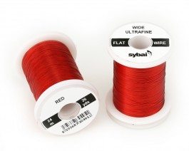 Flat Colour Wire, Ultrafine, Wide, Red