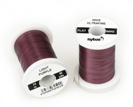 Flat Colour Wire, Ultrafine, Wide, Light Purple