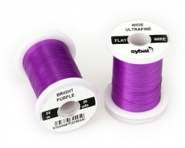 Flat Colour Wire, Ultrafine, Wide, Bright Purple