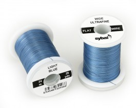 Flat Colour Wire, Ultrafine, Wide, Light Blue