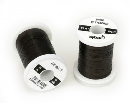 Flat Colour Wire, Ultrafine, Wide, Anthracit