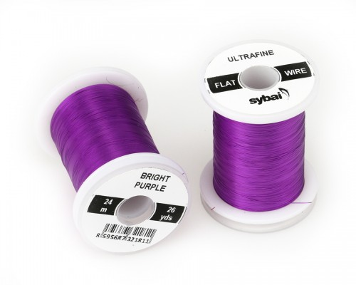 Flat Colour Wire, Ultrafine, Bright Purple